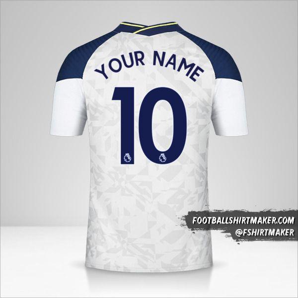 Tottenham Hotspur 2020/21 shirt number 10 your name