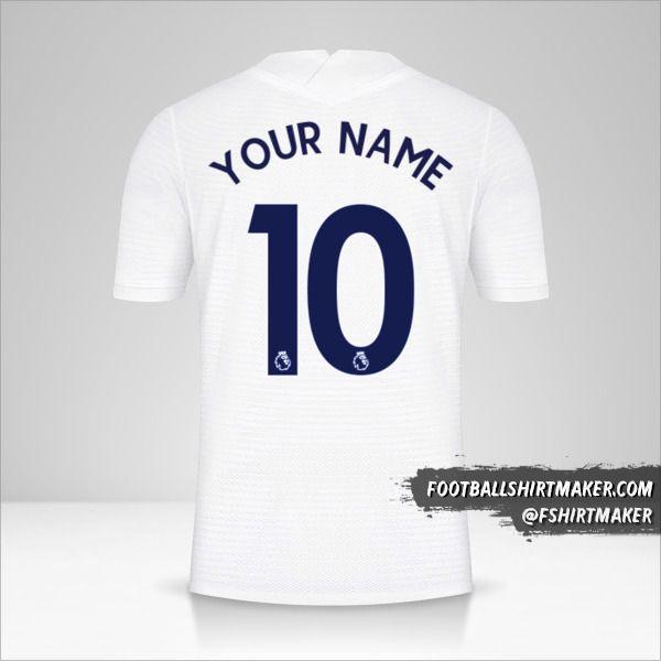 Tottenham Hotspur 2021/2022 shirt number 10 your name