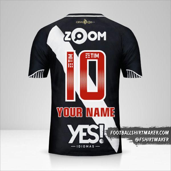 Vasco da Gama 2018 shirt number 10 your name