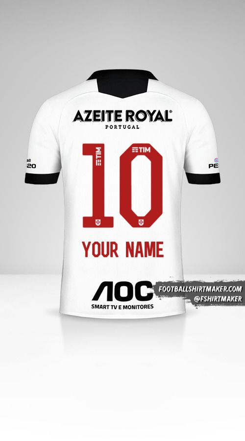 Vasco da Gama 2019/20 III shirt number 10 your name