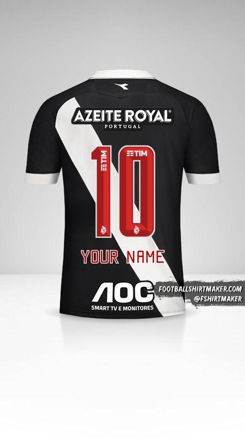 Vasco da Gama 2019/20 shirt number 10 your name