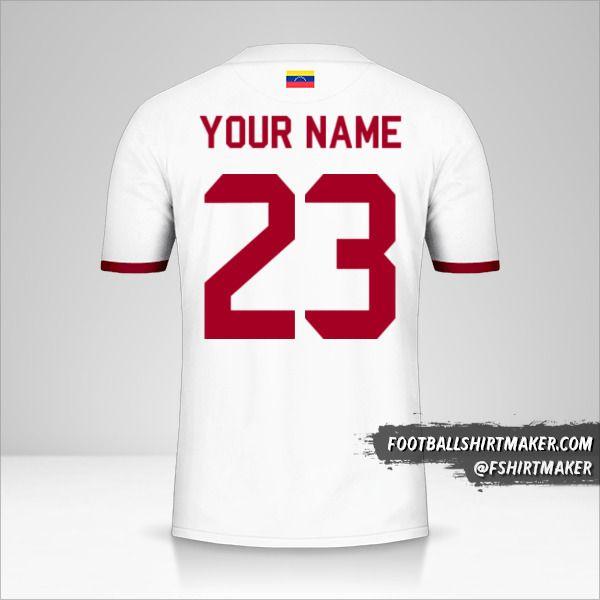 Venezuela 2019/2021 II shirt number 23 your name