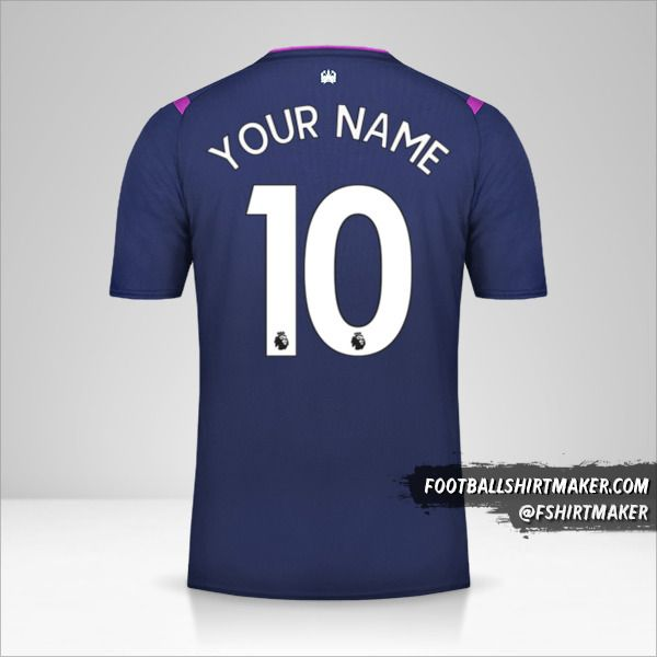 West Ham United FC 2019/20 III shirt number 10 your name
