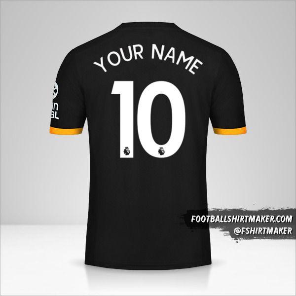 Wolverhampton Wanderers 2019/20 II shirt number 10 your name