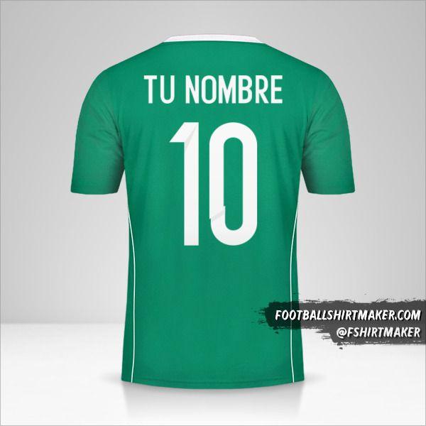 Jersey Argelia 2015 II número 10 tu nombre