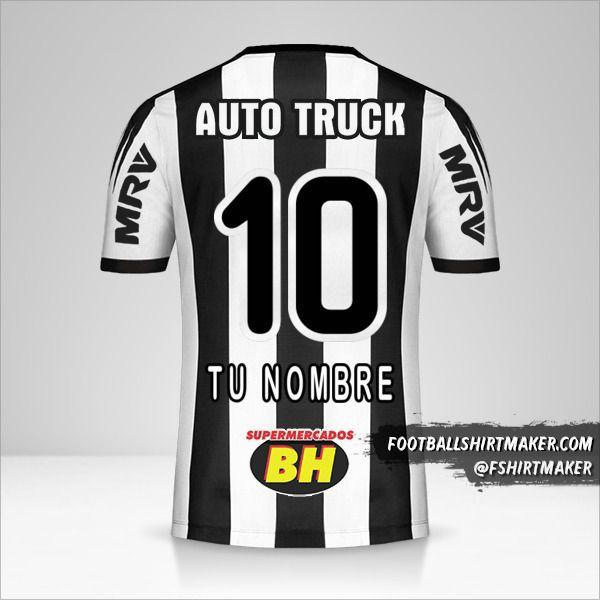 Jersey Atletico Mineiro 2019 número 10 tu nombre