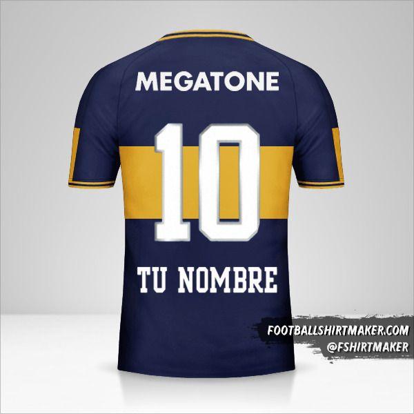 Jersey Boca Juniors 2006/07 número 10 tu nombre