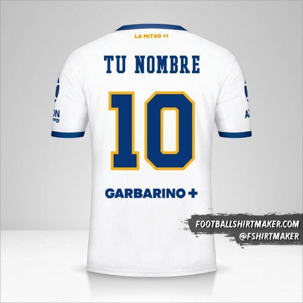 Jersey Boca Juniors 2020/21 II número 10 tu nombre