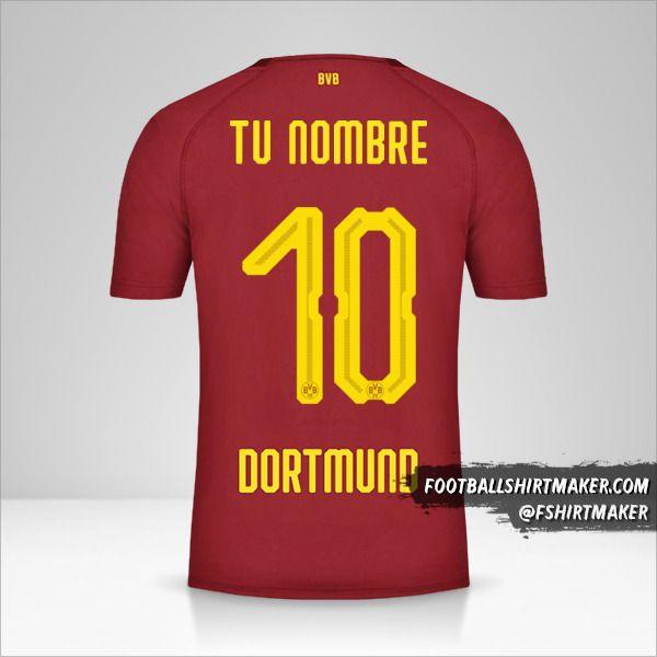 Jersey Borussia Dortmund 2018/19 III número 10 tu nombre
