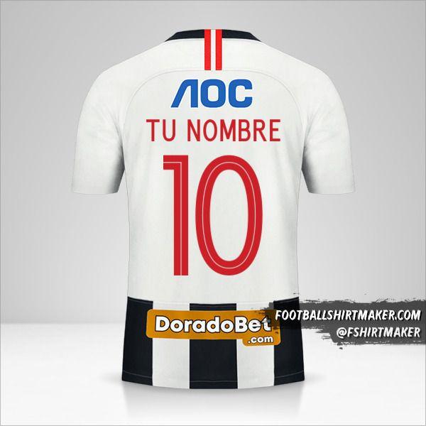 Jersey Club Alianza Lima 2020 número 10 tu nombre