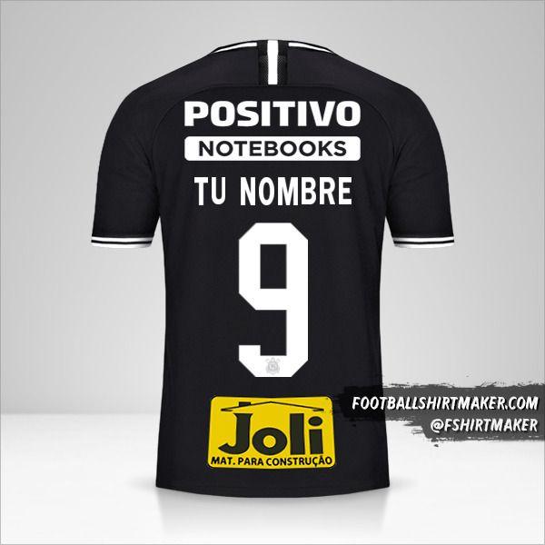 Jersey Corinthians 2019/20 II número 9 tu nombre