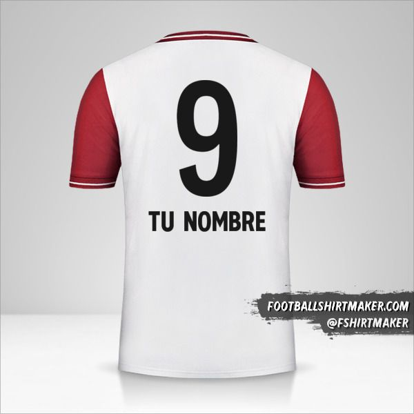 Jersey FC Bayern Munchen 120 Years número 9 tu nombre