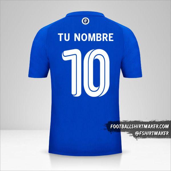 Jersey FC Porto 2018/19 125th UCL número 10 tu nombre