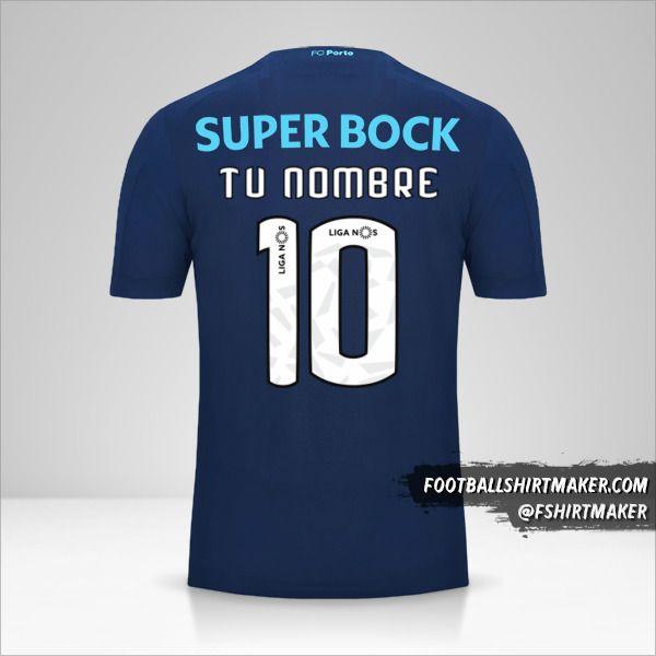 Jersey FC Porto 2019/20 III número 10 tu nombre