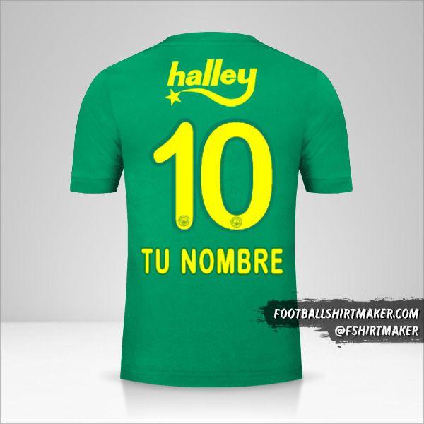 Jersey Fenerbahçe SK 2017/18 III número 10 tu nombre