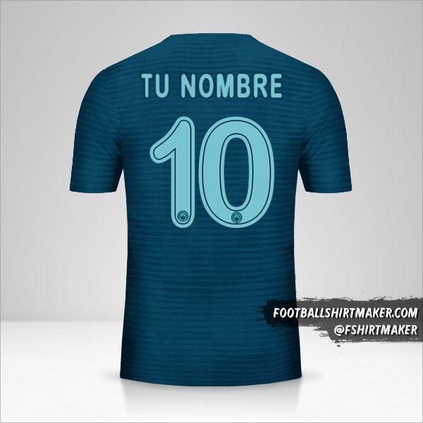 Jersey Fenerbahçe SK 2018/19 Cup III número 10 tu nombre