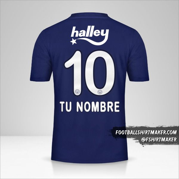Jersey Fenerbahçe SK 2019/20 número 10 tu nombre