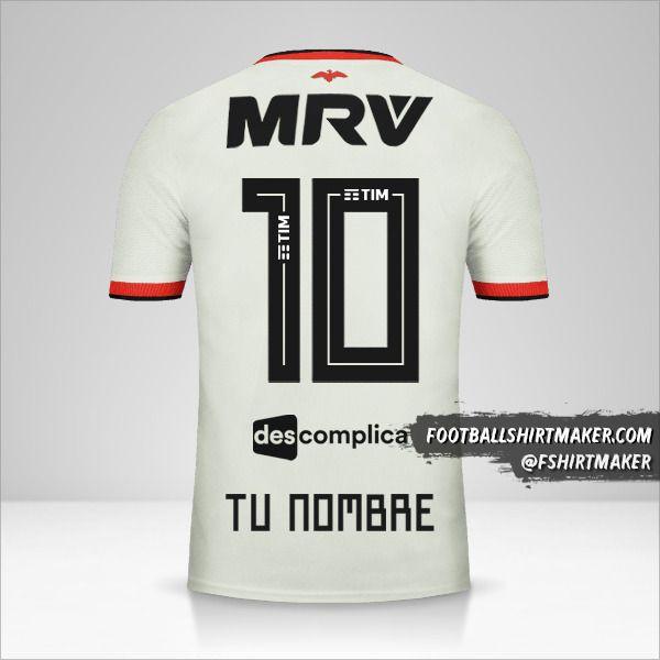 Jersey Flamengo 2018/19 II número 10 tu nombre