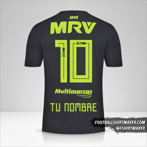 Jersey Flamengo 2019 III número 10 tu nombre