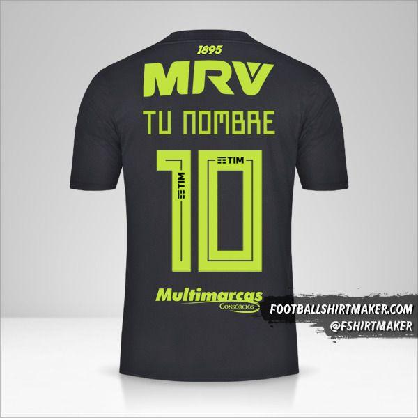 Jersey Flamengo Libertadores 2019 III número 10 tu nombre