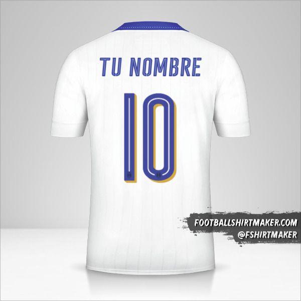 Jersey Italia 2016 II número 10 tu nombre
