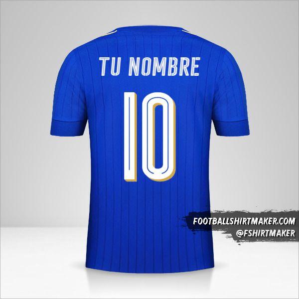 Jersey Italia 2016 número 10 tu nombre