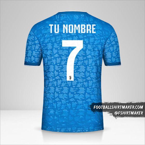 Jersey Juventus FC 2019/20 III número 7 tu nombre