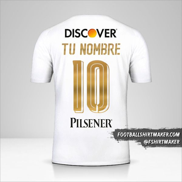 Jersey Liga de Quito 2018 número 10 tu nombre