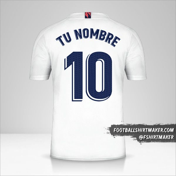 Jersey Real Madrid CF 2020/21 número 10 tu nombre