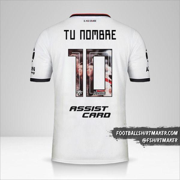 Jersey River Plate 2019/20 III número 10 tu nombre