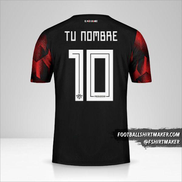 Jersey River Plate 2019 III Copas número 10 tu nombre