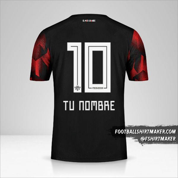 Jersey River Plate 2019 III número 10 tu nombre