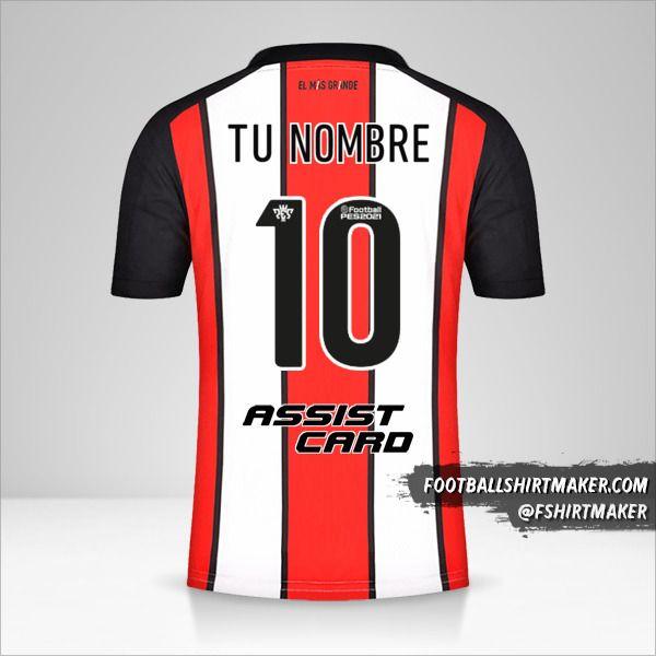 Jersey River Plate 2021/2022 III número 10 tu nombre