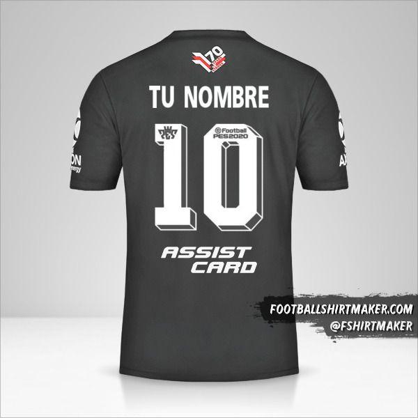 Jersey River Plate Adidas 70 Años número 10 tu nombre