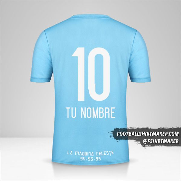Jersey Sporting Cristal 2018 número 10 tu nombre