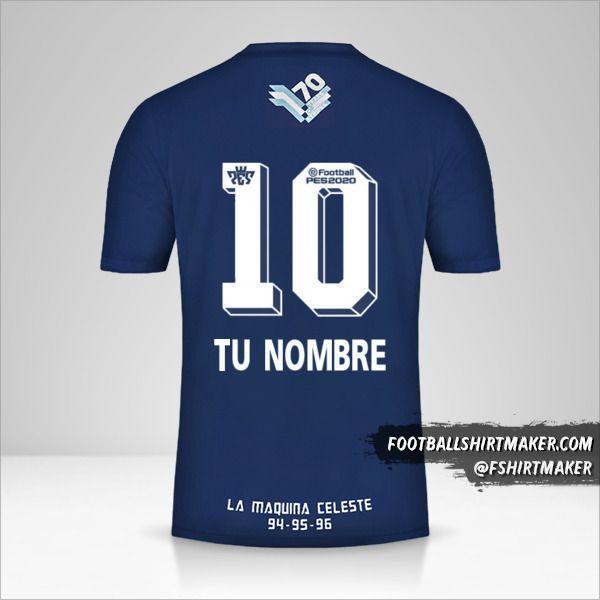 Jersey Sporting Cristal Adidas 70 Años número 10 tu nombre