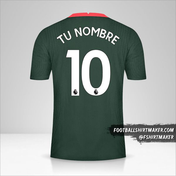 Jersey Tottenham Hotspur 2020/21 II número 10 tu nombre