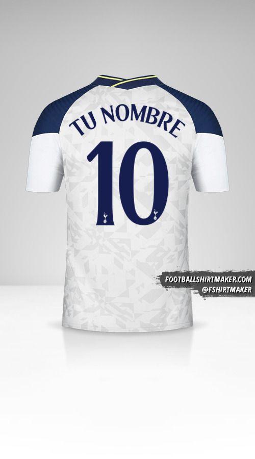 Jersey Tottenham Hotspur 2020/21 Cup número 10 tu nombre