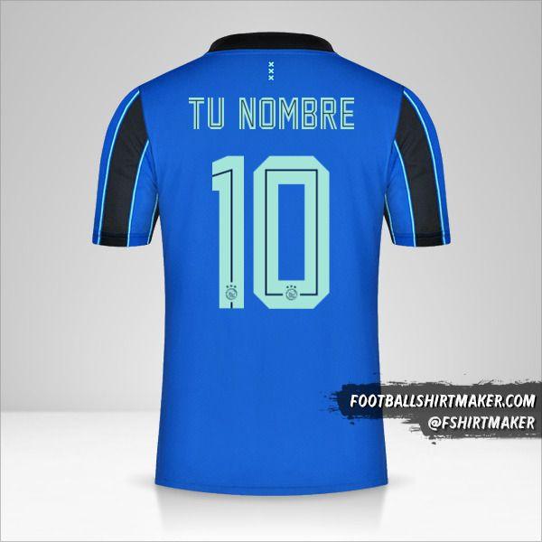 Camiseta AFC Ajax 2021/2022 II número 10 tu nombre