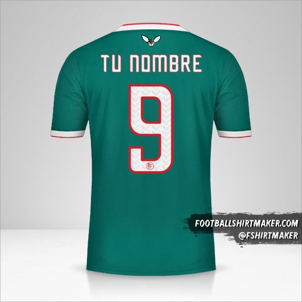 Camiseta Argelia 2019 II número 9 tu nombre