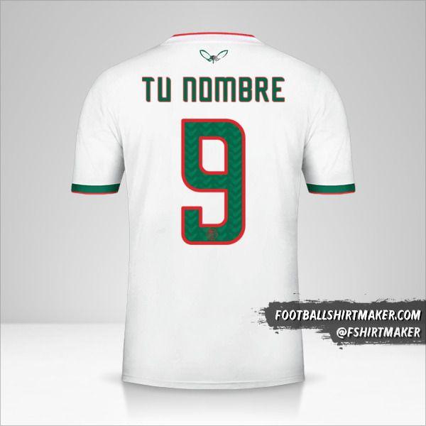 Camiseta Argelia 2019 número 9 tu nombre