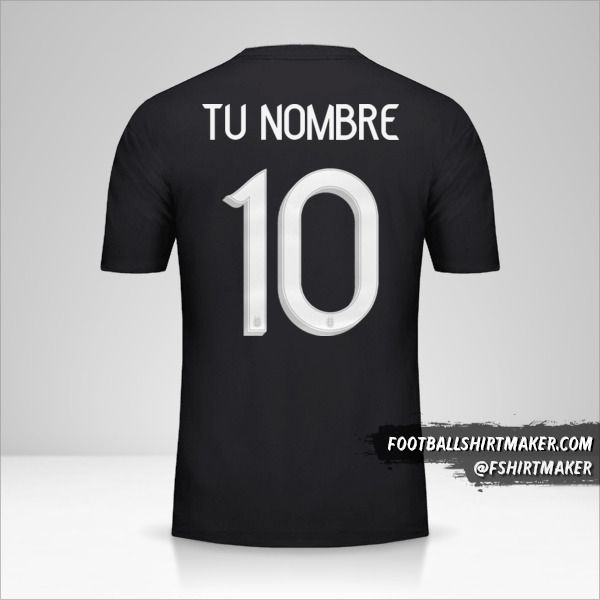 Camiseta Argentina 2019 II número 10 tu nombre