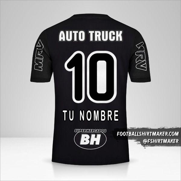 Camiseta Atletico Mineiro 2019 III número 10 tu nombre