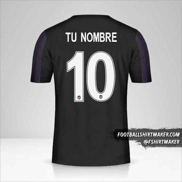 Camiseta Besiktas JK 2018/19 Cup II número 10 tu nombre