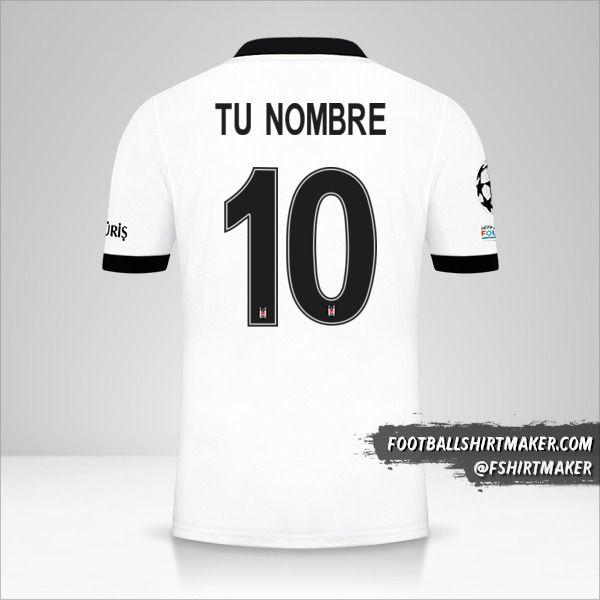 Camiseta Besiktas JK 2021/2022 Cup número 10 tu nombre
