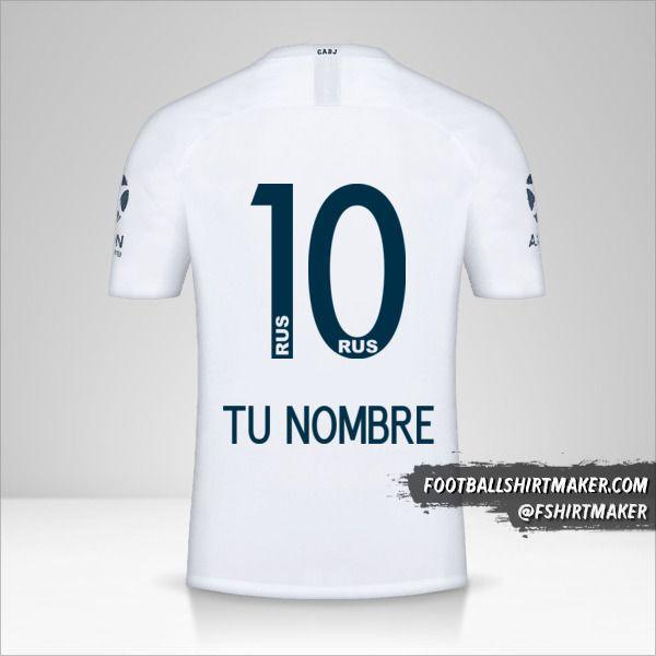 Camiseta Boca Juniors 2018/19 II número 10 tu nombre