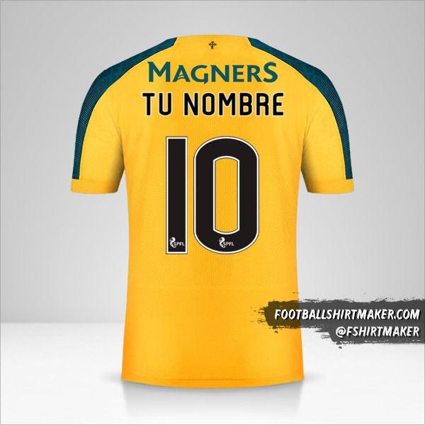 Camiseta Celtic FC 2019/20 II número 10 tu nombre