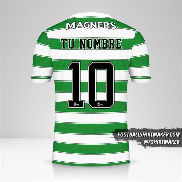 Camiseta Celtic FC 2021/2022 número 10 tu nombre