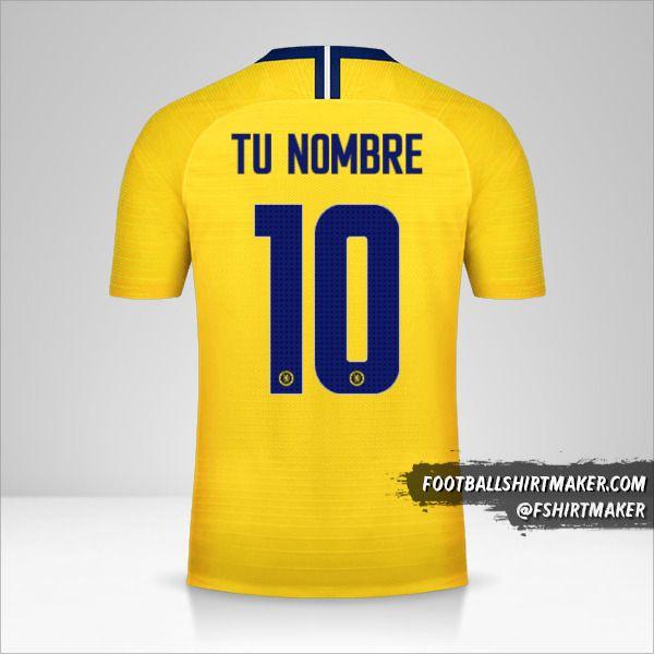 Camiseta Chelsea 2018/19 Cup II número 10 tu nombre