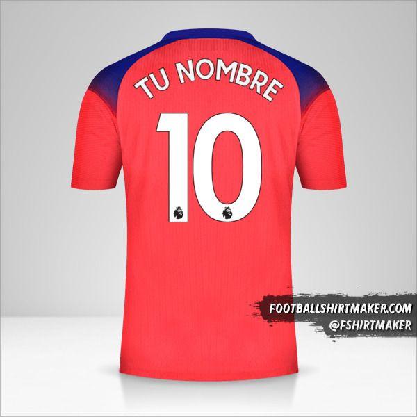 Camiseta Chelsea 2020/21 III número 10 tu nombre